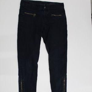 Rag & Bone Skinny Jogger Jeans Ankle Zippers 26